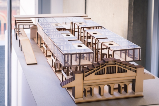 Model of market redevelopment by Thi Vo